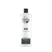 Nioxin System 2 Cleanser Shampoo for Natural Hair with Progressed Thinning 1000ml