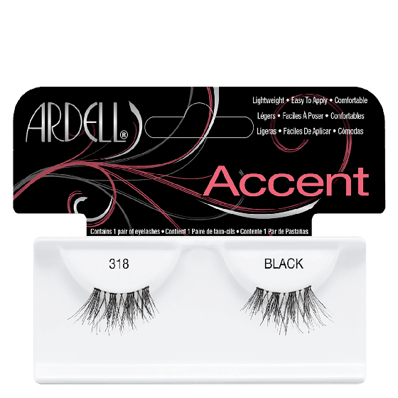 Ardell Accent Lashes 318 Black