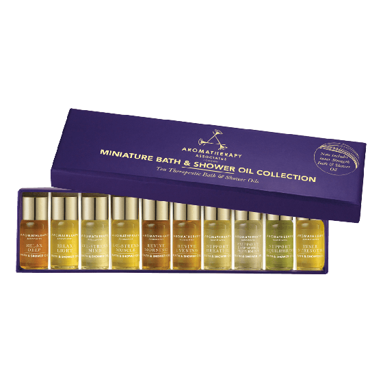 Aromatherapy Associates Miniature Bath & Shower Oil Collection 10x3ml
