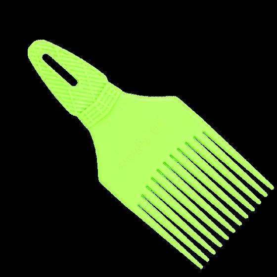 Denman Curl Tamer Detangling Comb Green