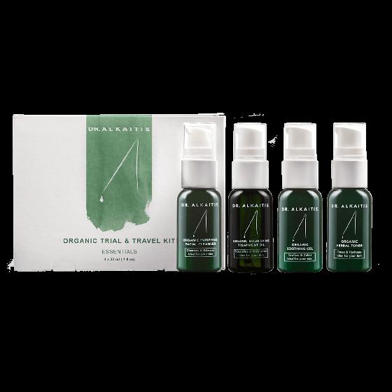 Dr. Alkaitis Organic Trial & Travel Kit (4 x 30ml)