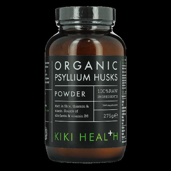 KIKI HEALTH Psyllium Husks Food Supplement Powder 275g