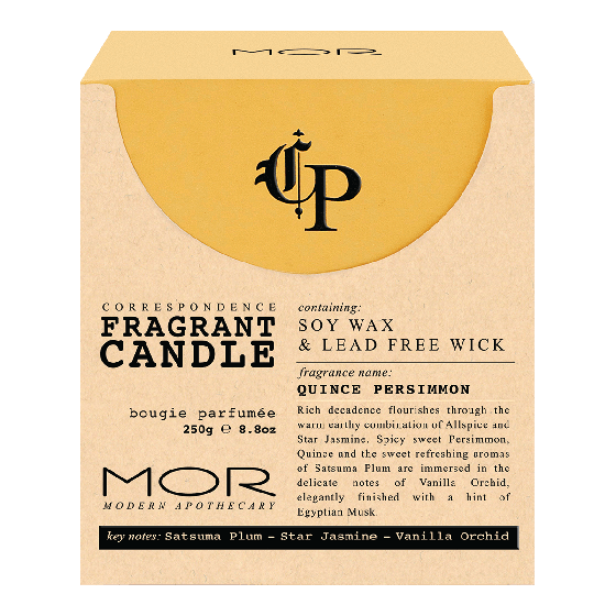 MOR Correspondence Quince Persimmon Candle 250g