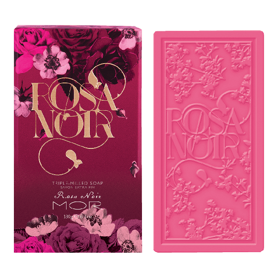 MOR Rosa Noir Triple-Milled Soap 180g