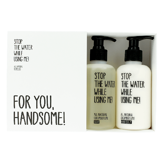 Stop The Water While Using Me! Cucumber Lime Hand Care Kit