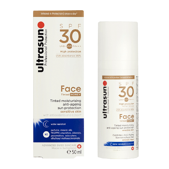 Ultrasun Face SPF30+ Tinted Honey 50ml