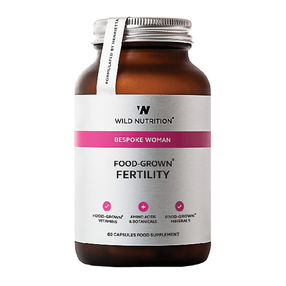 Wild Nutrition Women's Food-Grown® Fertility (60 Capsules)