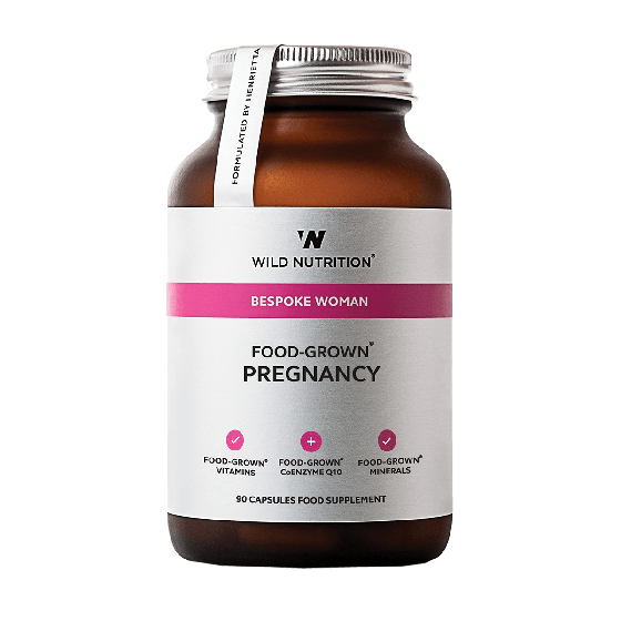 Wild Nutrition Food-Grown® Pregnancy (90 Capsules)
