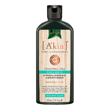 A'kin Mild & Gentle Fragrance Free Conditioner 225ml