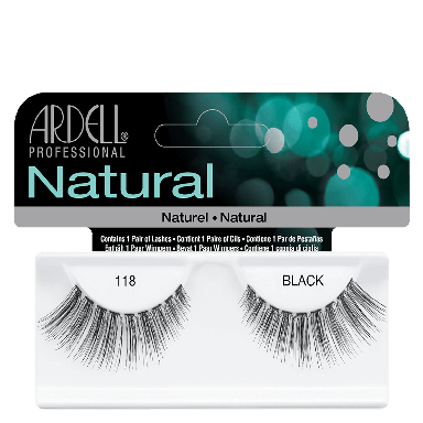Ardell Natural Lashes 118 Black