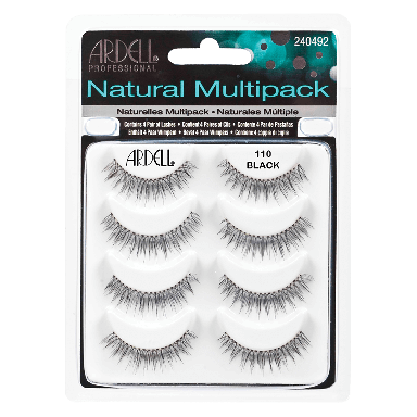 Ardell Natural Lashes 110 Black Multipack
