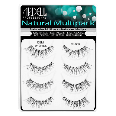 Ardell Natural Lashes Demi Wispies Black Multipack