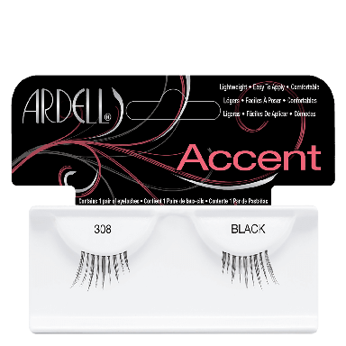 Ardell Accent Lashes 308 Black