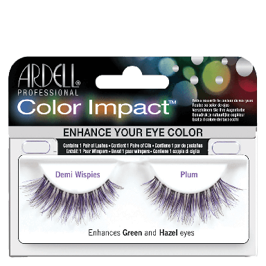 Ardell Color Impact Lashes Demi Wispies Plum