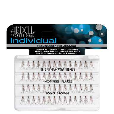 Ardell DuraLash Individuals Knot-Free Naturals Long Brown