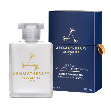 Aromatherapy Associates Lavender & Peppermint Bath and Shower Oil 55ml