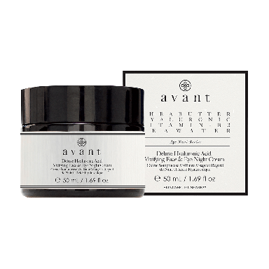 Avant Skincare Deluxe Hyaluronic Acid Vivifying Face & Eye Night Cream 50ml