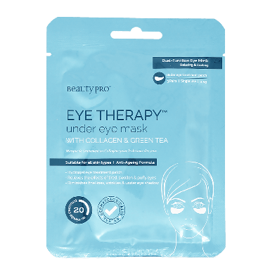 Beauty Pro Eye Therapy Under Eye Collagen Mask x 3