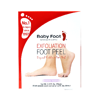 Baby Foot Exfoliation Foot Peel Lavender Scented 70ml
