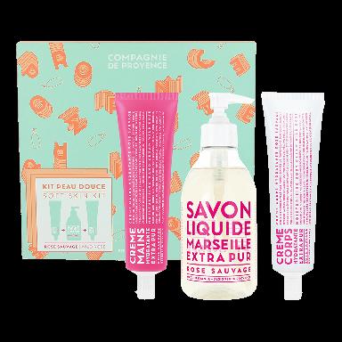 Compagnie De Provence EP Wild Rose Soft Skin Set