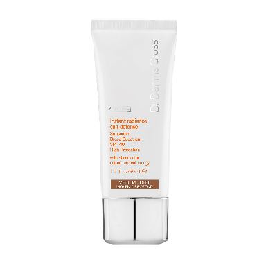 Dr Dennis Gross Instant Radiance Sunscreen SPF 40 Medium-Deep 50ml