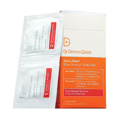 Dr Dennis Gross Alpha Beta Extra Strength 2-Step Daily Peel - 30 packettes