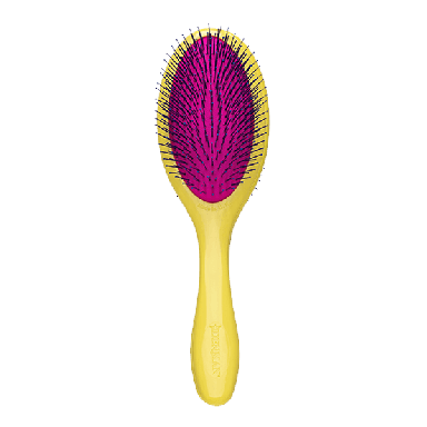 Denman D093M Tangle Tamer Gentle Brush Yellow