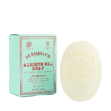 D R Harris Almond Oil Bath Soap 150g