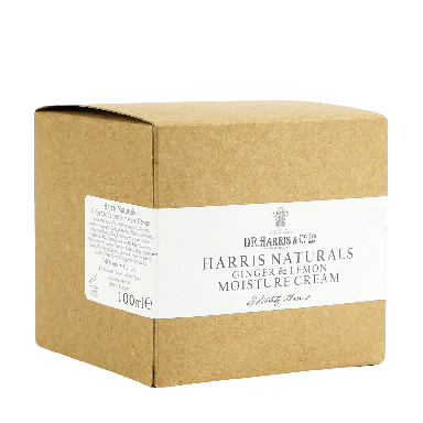 D R Harris Naturals Ginger & Lemon Moisture Cream 100ml
