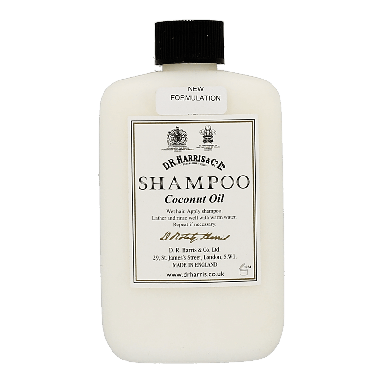 D R Harris Coconut Oil shampoo 250ml