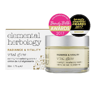 Elemental Herbology Radiance & Vitality Overnight Resurfacing Cream 50ml