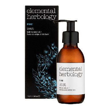 Elemental Herbology Fire Zest Bath & Body Oil 145ml