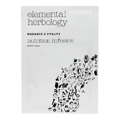 Elemental Herbology Nutrition Infusion Sheet Mask 25g