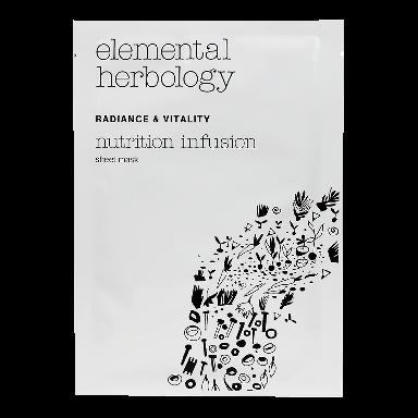 Elemental Herbology Nutrition Infusion Sheet Mask 25g