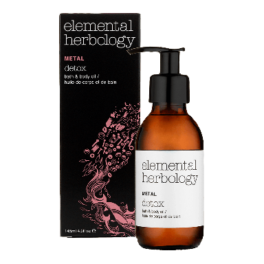 Elemental Herbology Metal Detox Bath & Body Oil 145ml