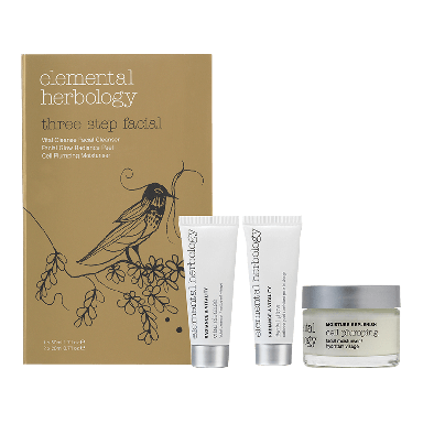 Elemental Herbology Three Step Facial Kit