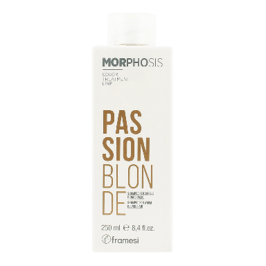Framesi Morphosis Passion Blonde Shampoo 250ml