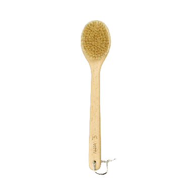 Hydrea London Natural Bristle Long Handle Sauna Brush