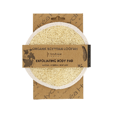 Hydrea Egyptian Loofah Exfoliating Body Pad