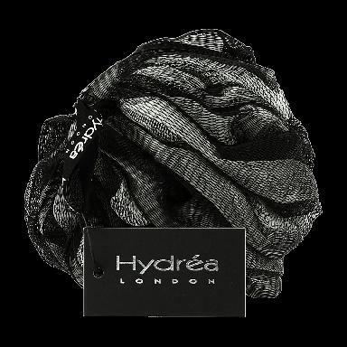 Hydrea London Luxury Soft Scrubber Black & Cream
