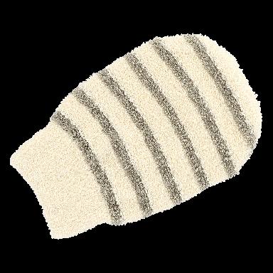 Hydrea Professional Cotton & Linen Spa Mitt
