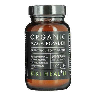 KIKI HEALTH Organic Maca Powder Premium 4 Root Blend 100g