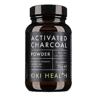 KIKI HEALTH Activated Charcoal (50 vegicaps) 300mg