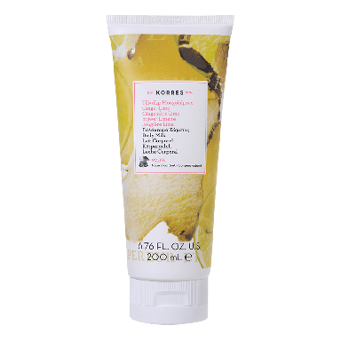 Korres Ginger Lime Body Milk 200ml