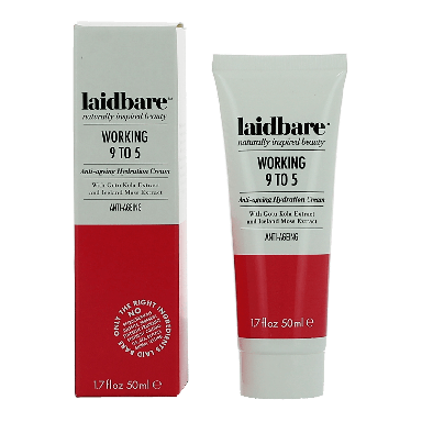 laidbare Working 9 To 5 Anti-Ageing Cream 50ml