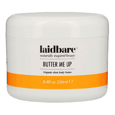 laidbare Butter me up Organic Body Butter 250ml
