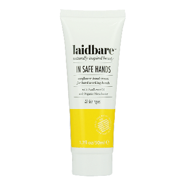laidbare In Safe Hands Sunflower Hand Cream 50ml