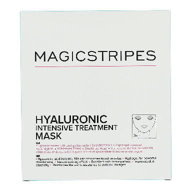Magicstripes Hyaluronic Intensive Treatment Mask (3 Pack)