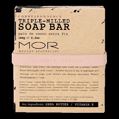 MOR Correspondence Kashmir Petals Soap Bar 150g