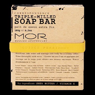 MOR Correspondence Quince Persimmon Soap Bar 150g